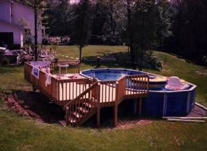pool and spa decks